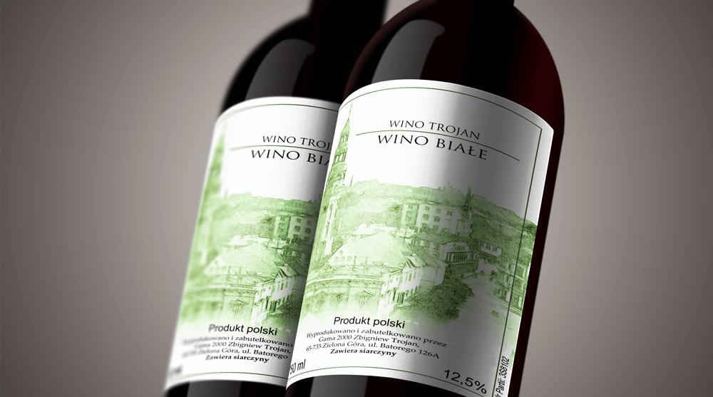 etykiety na wino druk naklejek